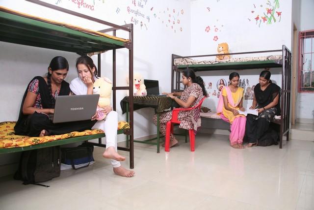 Tamilnadu college hostel bathroom